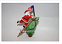 Hallmark 2006 Limited Quantity Stars and Stripes for Santa Ornament QXE3266