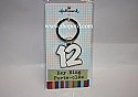 Hallmark Graduation 2012 White Key Chain 1GGT1210