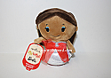 Hallmark itty bitty African American Holiday Barbie Plush KID3395