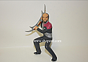 Hallmark 1999 Worf Ornament Star Trek Deep Space Nine QXI4139