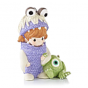 Hallmark 2013 Boo and Mike Ornament Disney Pixar Monsters Inc. (Precious Moments) QXD6135
