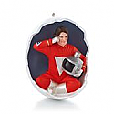 Hallmark 2013 Mork From Oark Ornament Mork and Mindy QXI2342 (Magic)