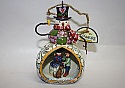 Jim Shore Snowman Diorama Hanging Ornament 4014396
