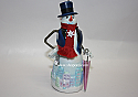Hallmark 2005 Skylar A Woolscarf Ornament 1st in the Snowtop Logdge series QX2405 Box Bent