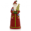 Hallmark 2015 Country Santa Ornament QGO1557
