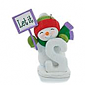 Hallmark 2013 S Is for Snow Ornament QRP5925