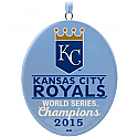 Hallmark 2016 Kansas City Royals Baseball 2015 World Series Ornament QHG1501
