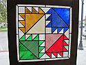 Bearclaw Stained Glass Window