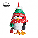 Hallmark 2013 Wiggly Giggly Penguin Keepsake Ornament Club KOC QXC5073