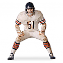 Hallmark 2016 Dick Butkus Chicago Bears NFL Football QXI3474