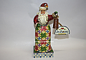 Jim Shore Holiday Bright Small Santa with Lantern Figurine 4010846