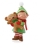 Hallmark 2014 Teddy Bear Maker Ornament KOC QXC5079