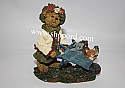 Boyds The Bearstone Collection - Olive Leafowitz with Forest Friends (Joy Ride) #228392