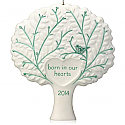 Hallmark 2014 Born in Our Hearts Adoption Ornament QGO1136 Available in October