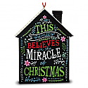Hallmark 2016 The Miracle Of Christmas Holiday House Ornament QGO1541