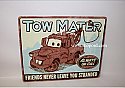 Hallmark Disney Pixar Tow Mater Cars Tin Sign DYG8006