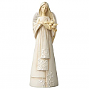 Enesco Foundations Mother Angel Figurine 4056500