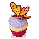 Hallmark 2016 Fluttering Beauty Butterfly Ornament 11th In The Keepsake Cupcake Series QHA1046