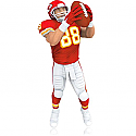 Hallmark 2014 Tony Gonzalez Kansas City Chiefs NFL Football Ornament QXI2816
