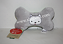 Hallmark Jingle Pet Toy Stuffed Bone Plush XKT1645