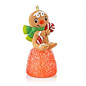 Hallmark 2013 One Sweet Gingerbread Boy Miniature Ornament QXM8522