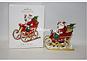 Hallmark 2010 Sleigh on the Way Keepsake Ornament Club QXC1026 Damaged Box