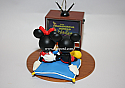Hallmark 2005 Mickey and Minnie Mouse Best Night of the Week (The Wonderful World of Disney) QXD4085 Damaged Box