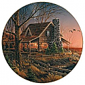 Terry Redlin- Comforts of Home Plate