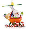 Hallmark 2015 Santas Sweet Ride Helicopter 9th In The Series QX9077