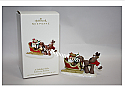 Hallmark 2008 A Holiday Ride Rodney the Reindeer Ornament QK4001 Damaged Box