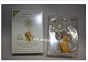 Hallmark 2009 Poohs Twinkly Snowflake Ornament Winnie the Pooh Collection Limited Quantity QXE3072 Damaged Box