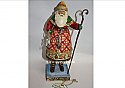 Jim Shore Yuletide Greetings Santa with Skates Figurine 4005296