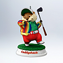 Hallmark 2012 Gopher Golfer Ornament Caddyshack QXI2901