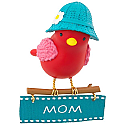 Hallmark 2017 Keepsake Winter Bird Mom Ornament QGO1075