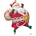 Hallmark 2014 Santa's On His Way Ornament QGO1566