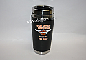 Hallmark Harley Davidson 16 oz Travel Mug What Happens on The Road Stays on the Road DAV1406