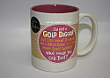 Hallmark I'm Not A Gold Digger Coffee Mug Shoebox GGF2117