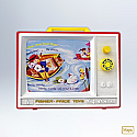 Hallmark 2012 Two Tune TV Ornament Fisher Price QXI2671