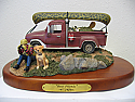 Terry Redlin Best Friends sculpture