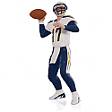 Hallmark 2015 Philip Rivers San Diego Chargers NFL Football Ornament QXI2707