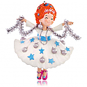 Hallmark 2015 Merry Fancy Christmas Fancy Nancy Ornament QXI2677
