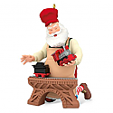 Hallmark 2016 Toymaker Santa Ornament 17th In The Series QX9204