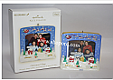 Hallmark 2009 Christmas Village Recordable Photo Holder Ornament QSR4502