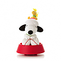 Hallmark Sleddin Snoopy Plush- Features Sound and Motion LPR2339