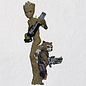 Hallmark 2018 Keepsake Groot and Rocket QXI8556