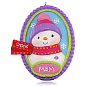 Hallmark 2015 Heres To Mom Snowman Ornament QGO1217
