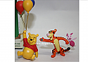 Hallmark 2005 Up For Adventure Miniature Ornament Winnie the Pooh Collection set of 2 QXM8945