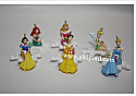 Hallmark 2006 Disney Snowflake Miniatures set of 6 QXM3153