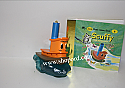 Hallmark 2000 Scuffy The Tugboat Ornament With Little Little Golden Book QX6871