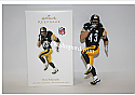 Hallmark 2010 Troy Polamalu Football Ornament QXI2296